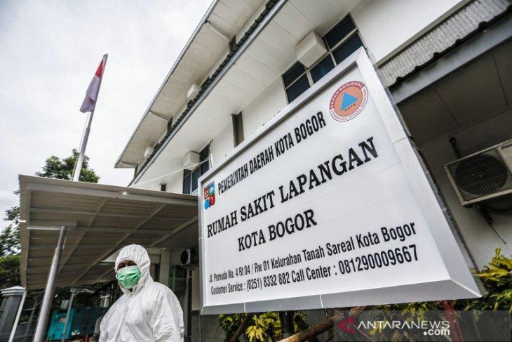 Tidak ada lagi pasien, RS Lapangan di Kota Bogor dinonaktifkan