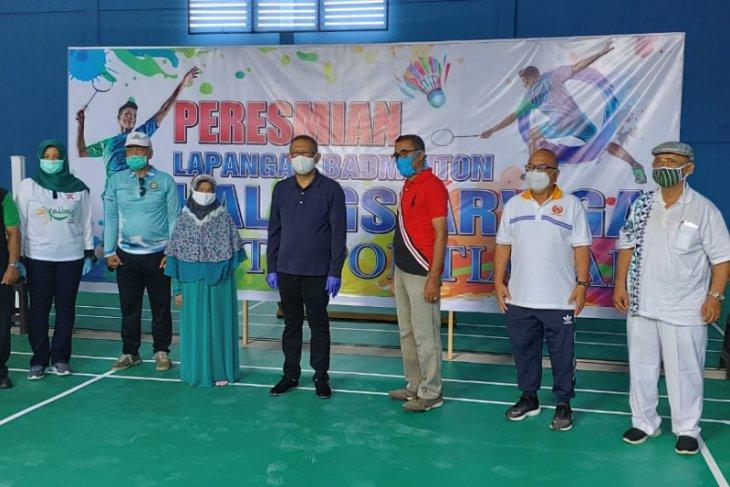 Gubernur Kalbar Resmikan Gedung Badminton Hall GS Arviga Kota Pontianak