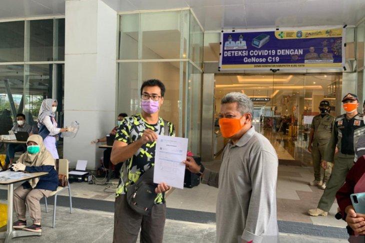 Kubu Raya ambil 200 sampel tes COVID-19 dengan GeNose