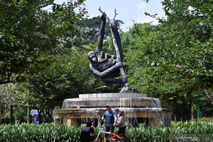 Ragunan sediakan layanan TransJakarta gratis bagi pengunjung pada libur Lebaran