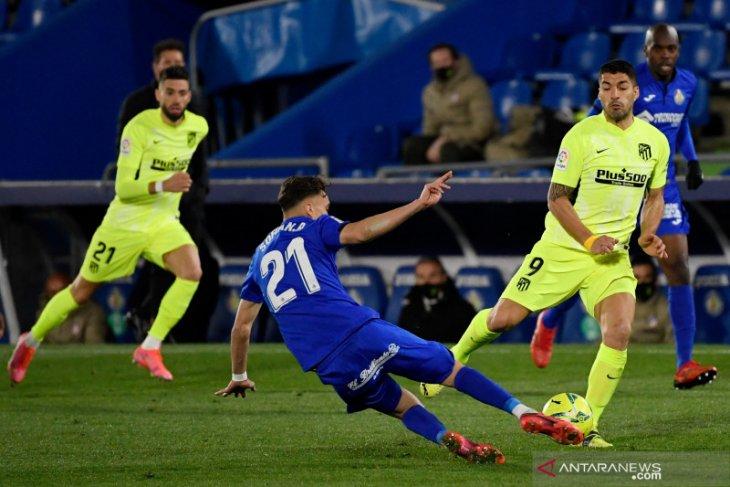 Liga Spanyol, Atletico Madrid gagal petik poin penuh di kandang Getafe