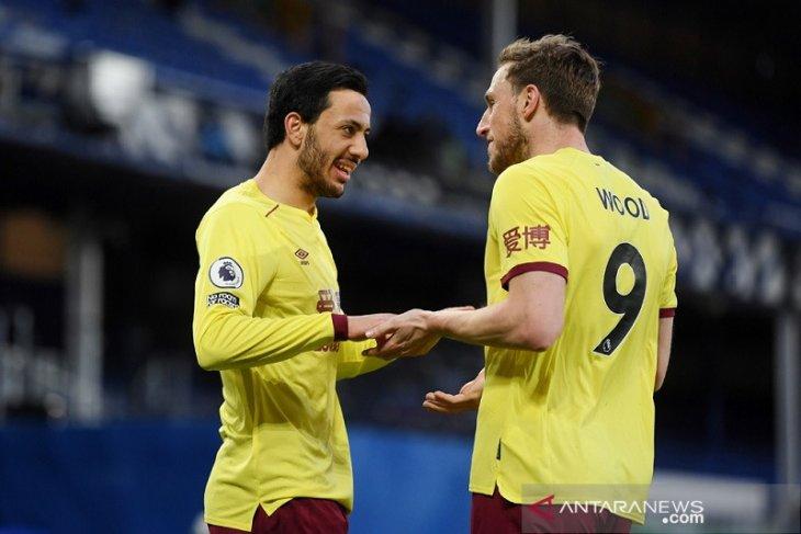 Liga Inggris: Burnley tundukkan tuan rumah Everton 2-1