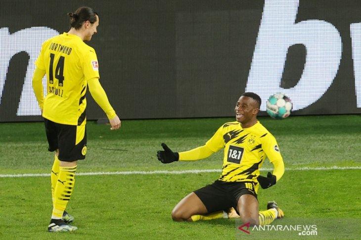 Menang atas Hertha, Dortmund dekati empat besar