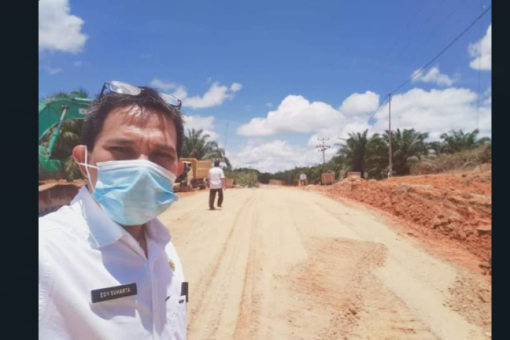 Jalan Badau-Empanang batas RI-Malaysia dibangun anggaran Rp191 miliar