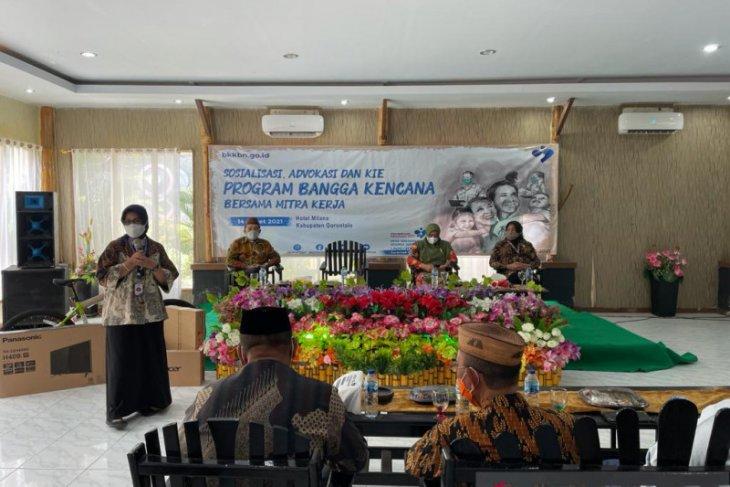 Anggota DPR sosialisasi program BKKBN di Kabupaten Gorontalo