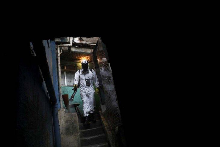 Brazil  umumkan rekor 2.841 kematian COVID sehari