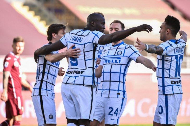 Liga Italia: Sundulan spektakuler Lautaro Martinez bawa Inter tundukkan Torino 2-1