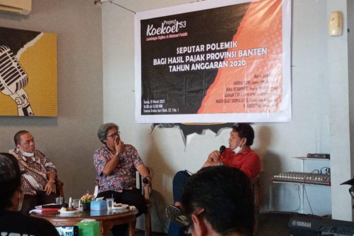 Pemprov Banten janji segera tuntaskan dana bagi hasil pajak Rp662 miliar