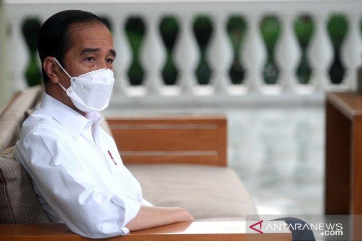 Jokowi: tak ada niat jadi presiden tiga periode