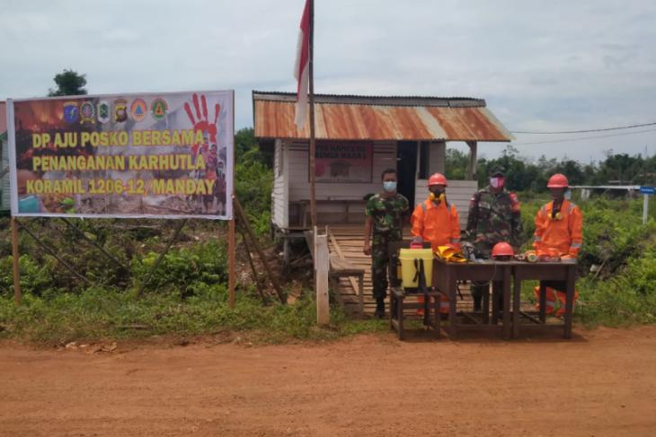 Babinsa di Kalis Kapuas Hulu gencar sosialisasi pencegahan Karhutla