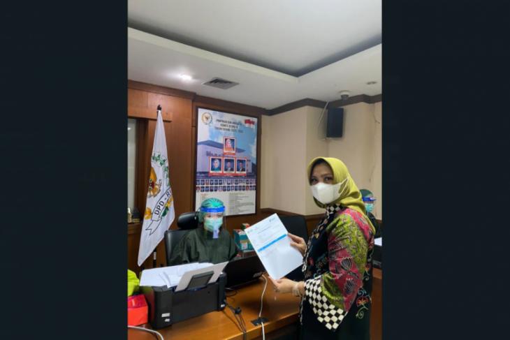 Anggota DPD asal Kalbar ajak masyarakat sukseskan vaksinasi cegah COVID-19