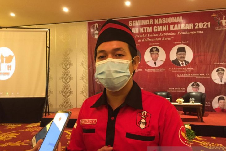 GMNI Kalbar perkuat peran perjuangkan hak dan kepentingan rakyat melalui KTM