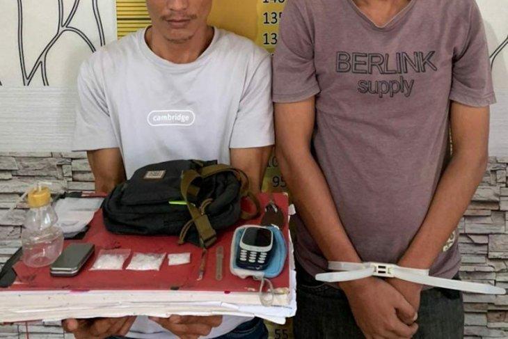 Polisi tangkap dua pengedar narkoba di Langsa