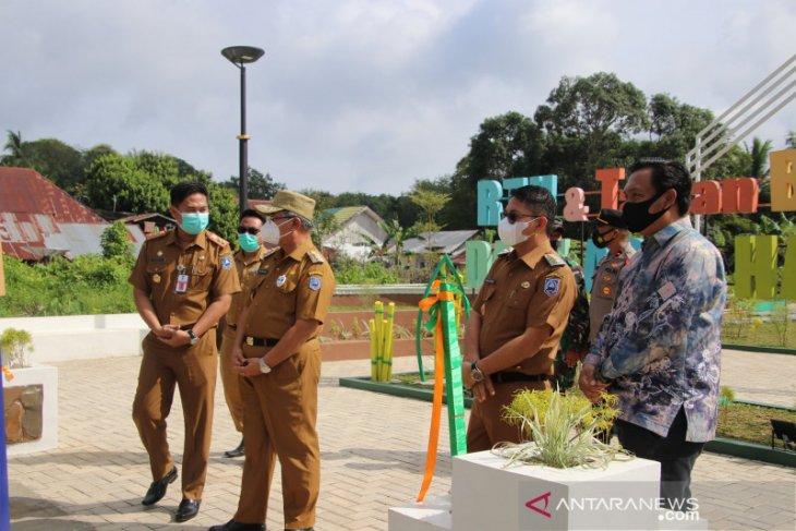 RTH dan Taman Bermain Datu Abul Hasan Padang Batung diresmikan