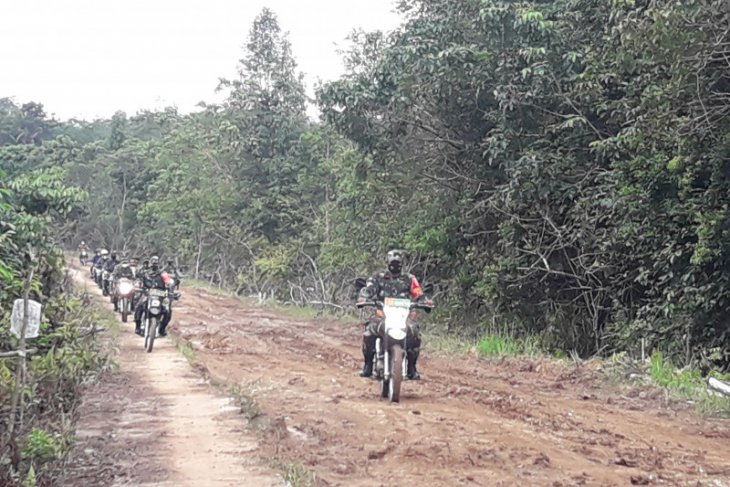 Tim Mabes TNI AD meninjau lokasi TMMD ke-110