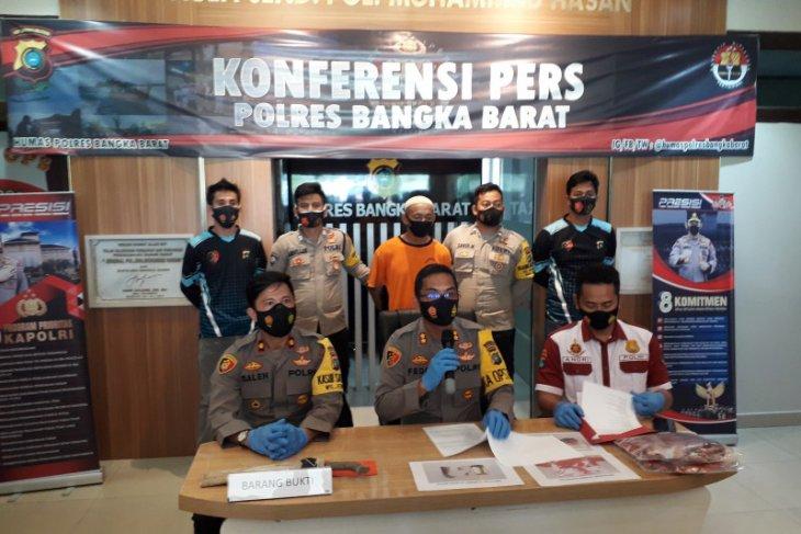 Pelaku pembunuhan berencana di Bangka Barat diancam hukuman 35 tahun