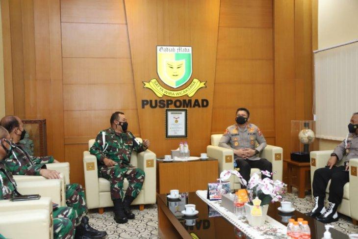 Polri dan TNI perkuat sinergi dan komunikasi penegakan disiplin anggota