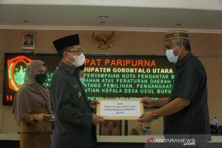 Pemkab Gorontalo Utara usul inisiatif perubahan Perda Pemilihan Kades