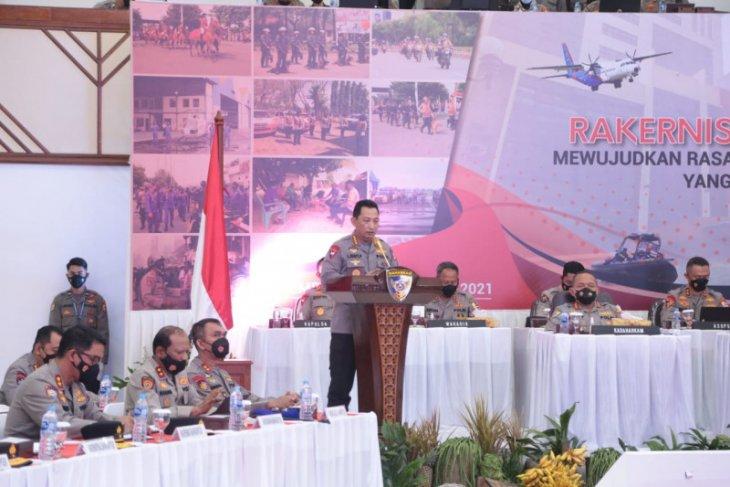 Kapolri Listyo ingatkan jajaran persiapan Operasi Ketupat 2021