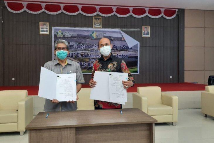 BPJAMSOSTEK Maluku - RSUP Leimena kerja sama layanan kesehatan