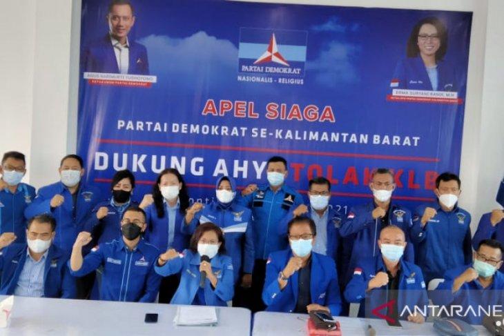 Tujuh kader Demokrat Kalbar dalam KLB kaget Moeldoko terpilih