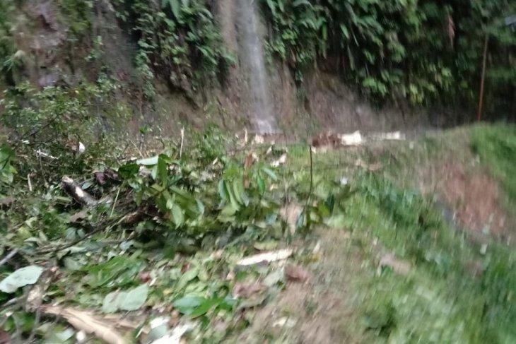 Jalan Sibolga-Tarutung tertimbun longsor, arus lalu lintas dialihkan