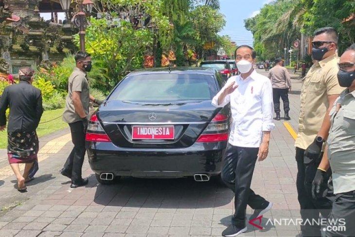 Presiden: Ubud, Sanur dan Nusa Dua jadi percontohan wisata zona hijau