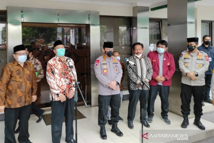 Bahas penanganan pandemi COVID-19, Kapolri lanjutkan silaturahmi ke ulama