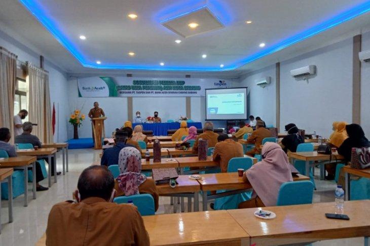 Bank Aceh Syariah dan Taspen sosialisasi BUP bagi PNS di Sabang