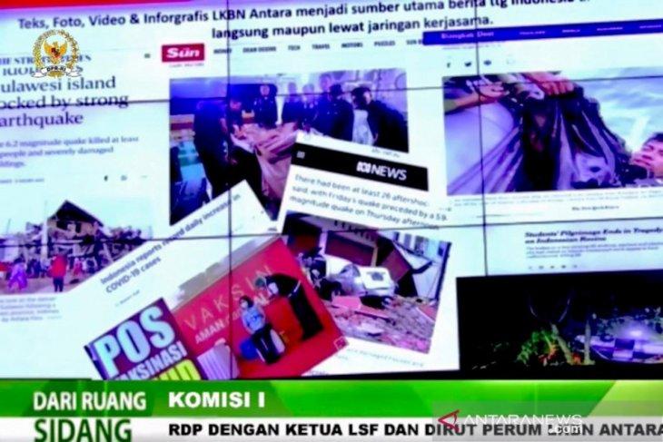 LKBN ANTARA dorong aliansi strategis dengan RRI-TVRI