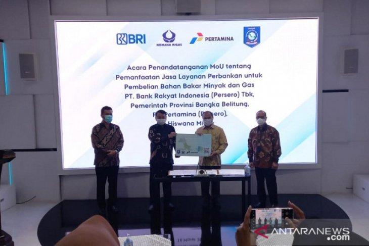 Gubernur Babel tandatangani MoU distribusi BBM dan LPG e-money