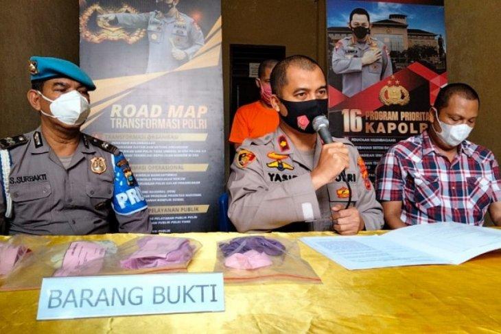 Polisi tangkap pelaku cabuli dua anak kandungnya  di Medan
