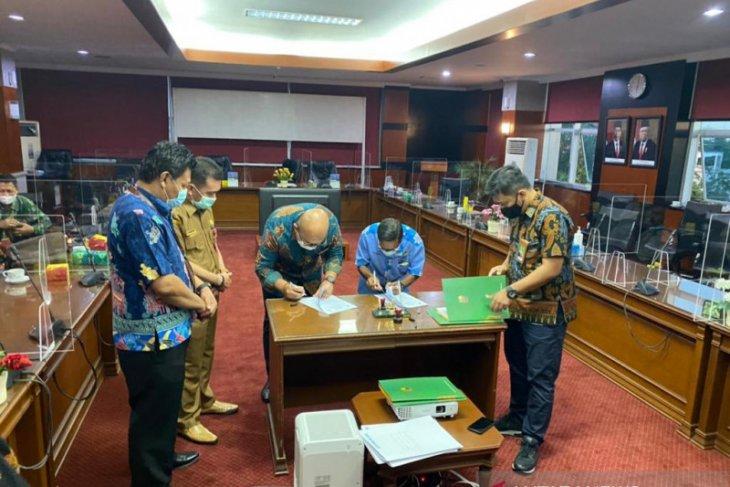 BRI Kanwil Banjarmasin kerja sama pendanaan replanting kelapa sawit