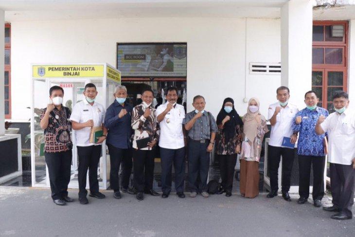Plt Wali Kota Binjai terima kunjungan Komite Kerjasama Kesehatan