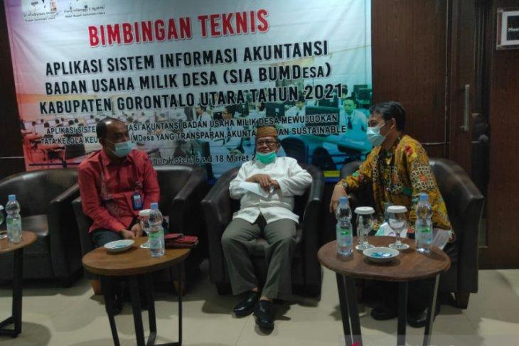 Gorontalo Utara implementasi aplikasi Sakti BUMDes