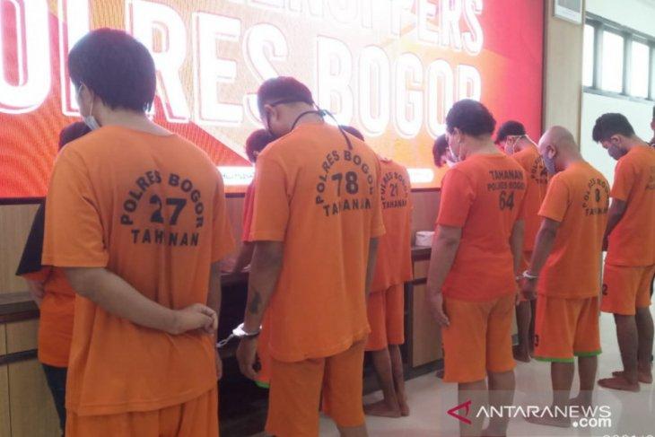 Mahasiswa bandar narkoba diamankan polisi di Bogor