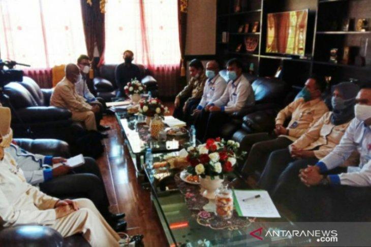 Ketua DPRD Babel audiensi bersama BKKBN, KPID dan KID Babel