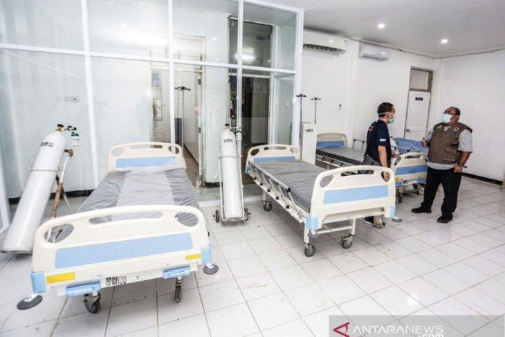 Sembilan dari 41 pasien RSL Kota Bogor berasal dari daerah lain