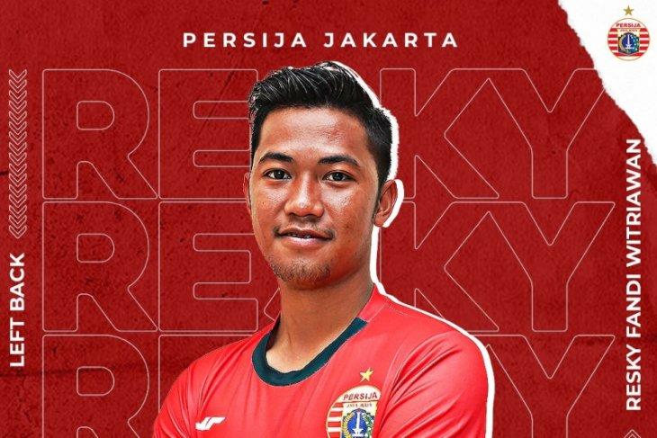 Persija berharap Resky Fandi mampu tampil rutin di Dewa United