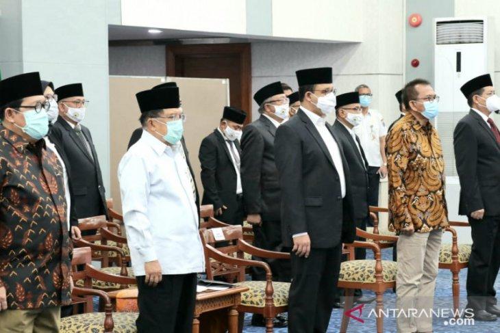 Jusuf Kalla beri saran masjid jadi lokasi vaksinasi