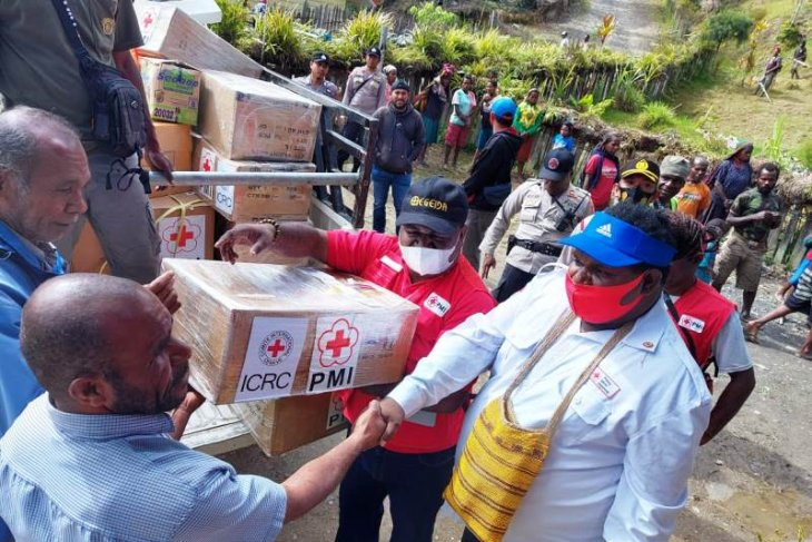 Red Cross offers relief aid to Intan Jaya residents