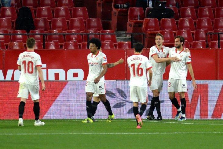 Liga Spanyol, En Nesyri bawa Sevilla tempel Madrid usai kalahkan Elche