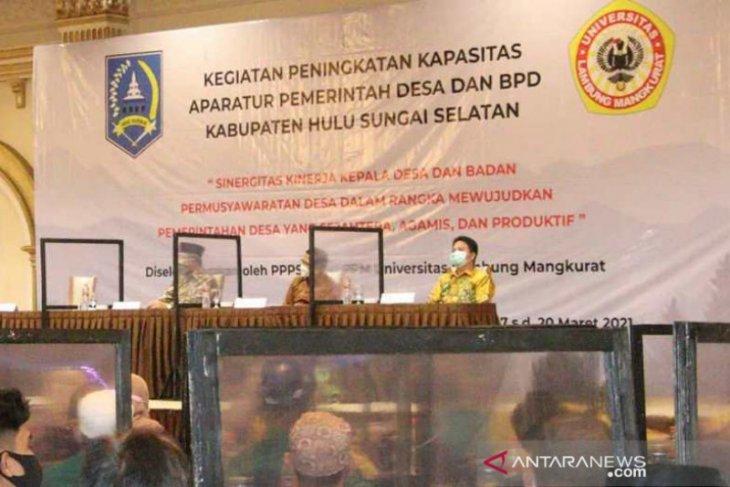 Dinas PMD HSS gandeng ULM tingkatkan kapasitas kepala desa dan anggota BPD