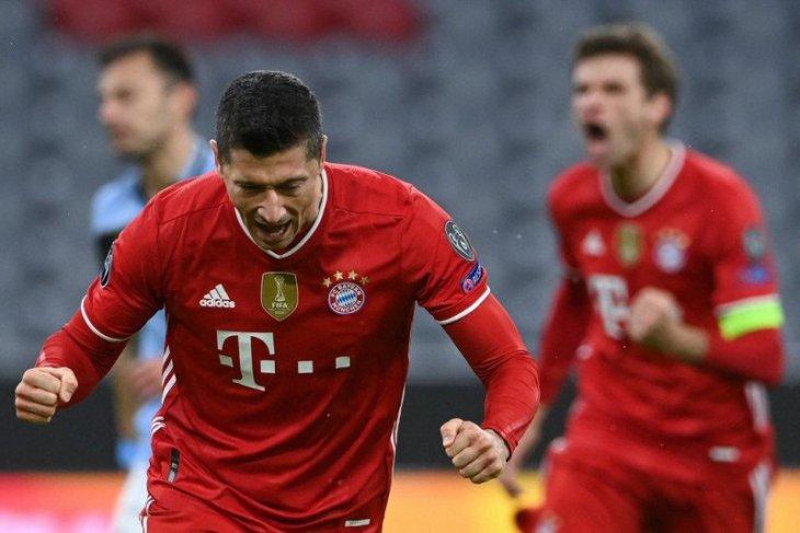 Singkirkan Lazio, Bayern melenggang ke perempat final Liga Champions