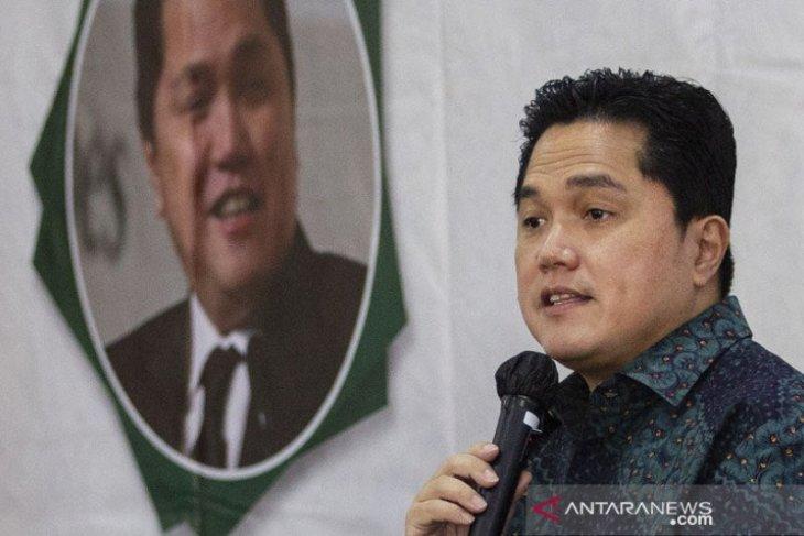Menteri BUMN Erick Thohir melakukan pergantian direksi PT PPI