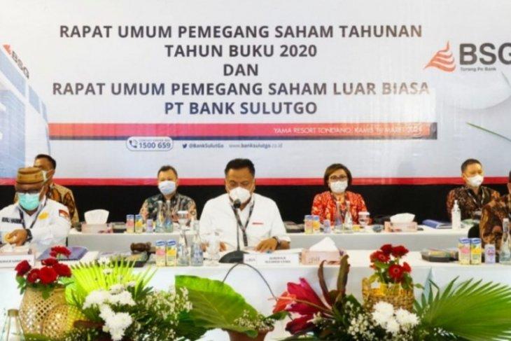 Pemprov Gorontalo tambah saham Rp10 miliar di Bank SulutGo