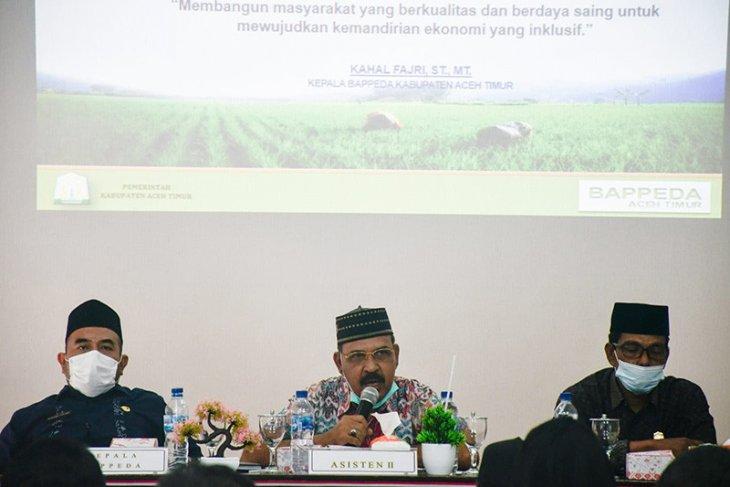 Asisten sebut pembangunan sektor pertanian atasi kemiskinan di Aceh Timur