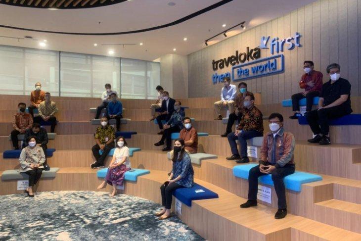 Traveloka resmikan kantor baru di BSD City