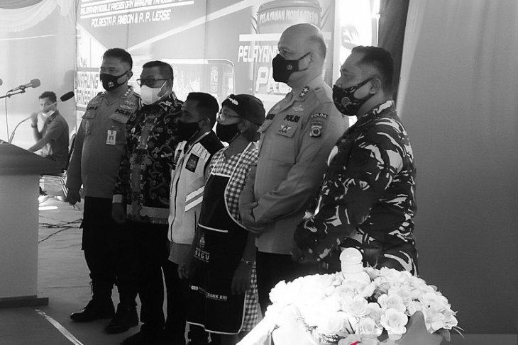 Gubernur - Kapolda Maluku luncurkan KTN dan pelayanan presisi mobile