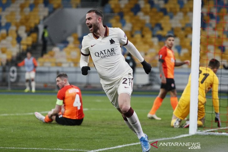 Liga Europa: Roma mantapkan agregat, Granada lolos meski kalah